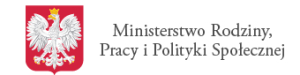 logo ministerstwo Rodziny